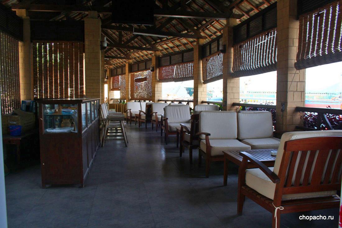 Место на причале. Остров Хон Там (г. Нячанг, Вьетнам)