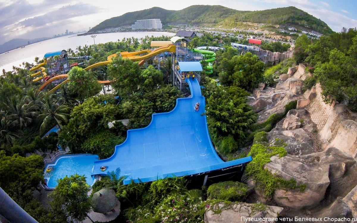 Аквапарк в парке развлечений Винперл, Нячанг, Вьетнам