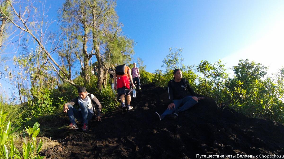 Бали. Восхождение на вулкан Гунунг Батур 2016.