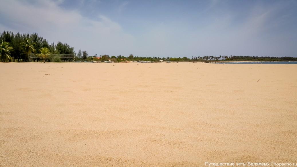 Пасикуда, пляж Шри-Ланки