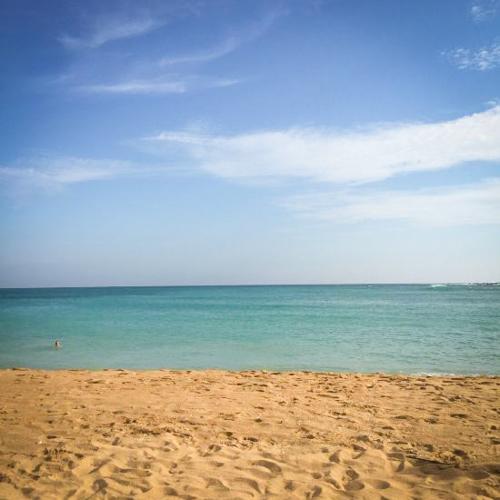 Унаватуна, Шри-Ланка. Отель на хорошем пляже.