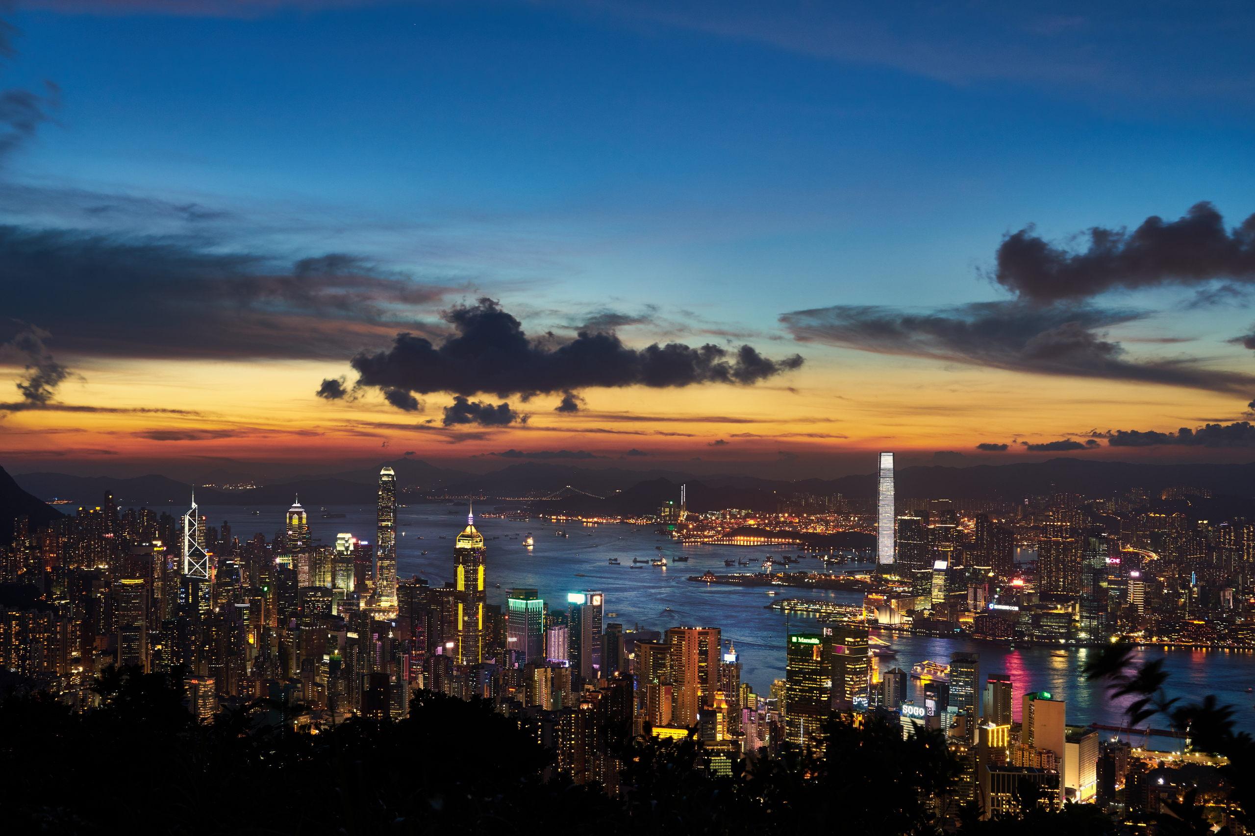 7 бесплатных смотровых площадок Гонконга