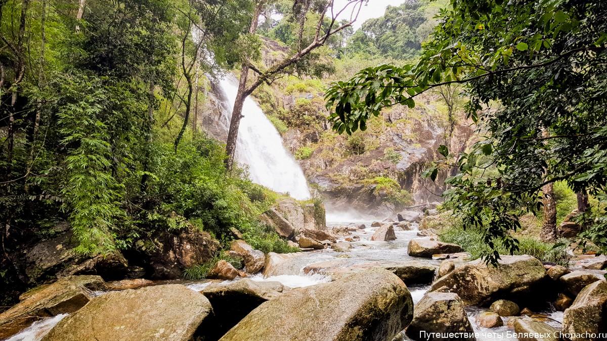 Водопад Та Гу, Вьетнам, Нячанг фото