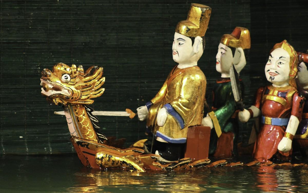 Театр кукол на воде в Нячанге, Вьетнам
