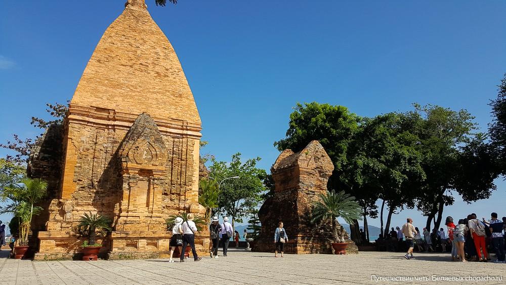 Древние Тямские Башни Понагар во Вьетнаме