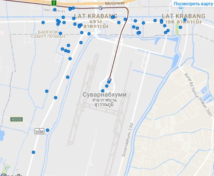 Отели бангкока рядом с аэропортом суварнабхуми