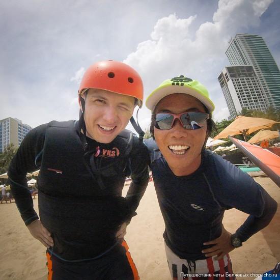 Кайтсёрфинг в Нячанге с инструктором
