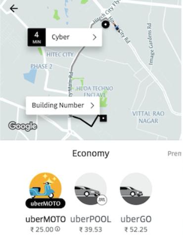 UberMOTO во Вьетнаме