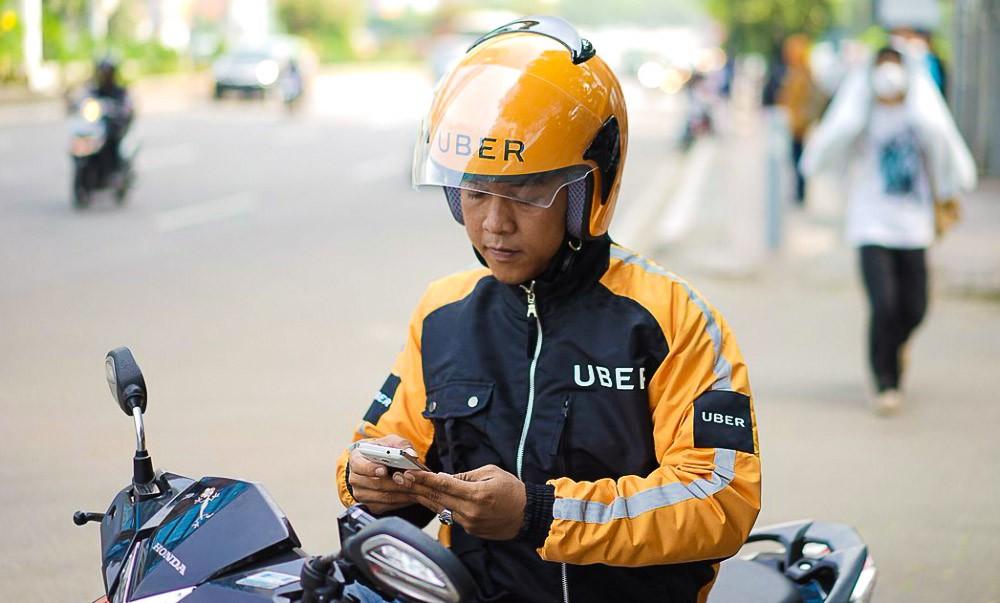 Uber Мото такси во Вьетнаме, Индии и на Бали