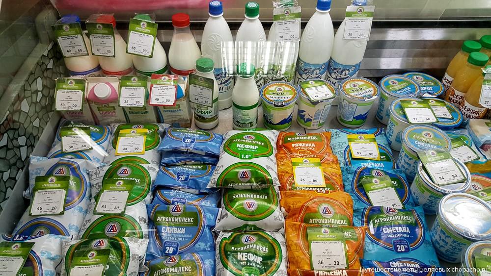 Цены в магазинах в Анапе
