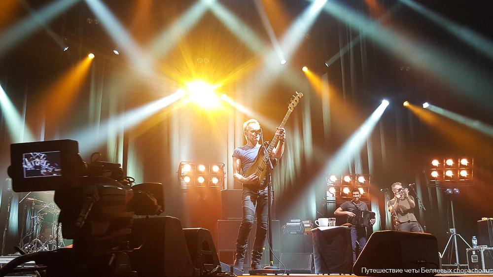 Концерт Стинга в Минске 8 октября 2017