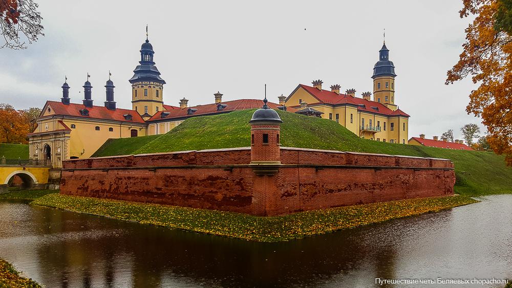Где находится Несвижский замок в Беларуси