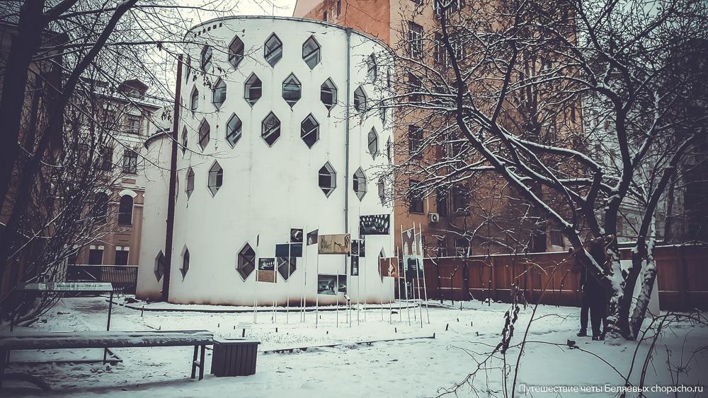 Дом Мельникова фото сегодня