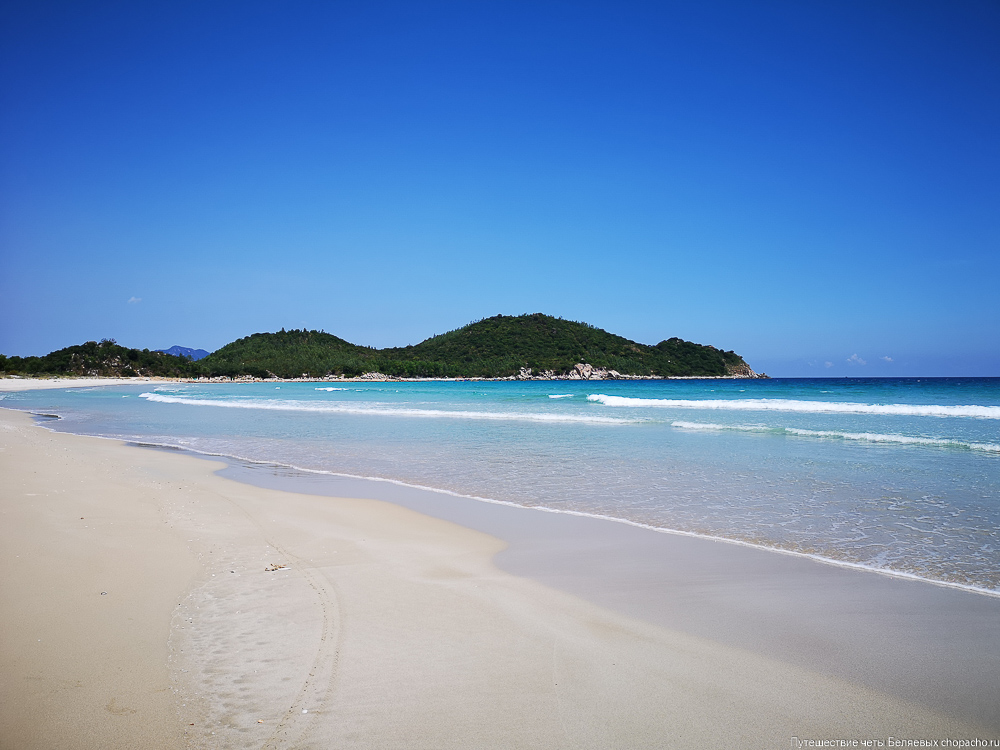Дикий пляж Нячанга Bai Binh Tien
