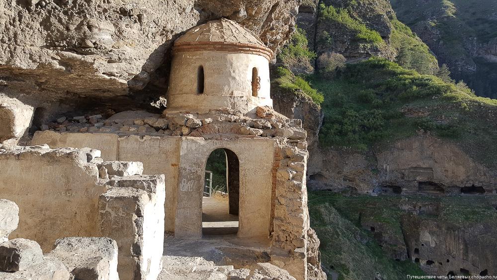 Скальный монастырь Ванис-Квабеби в Грузии