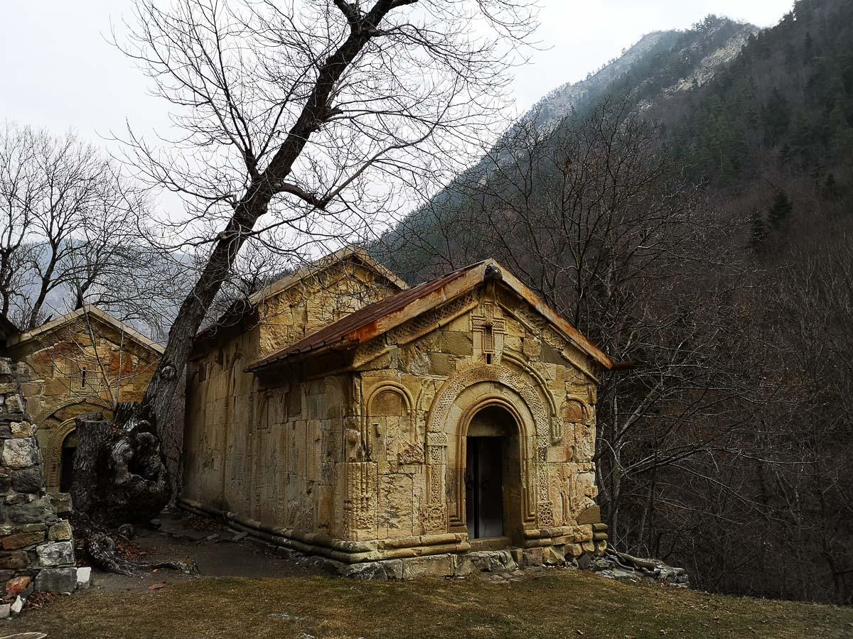Средневековая Церковь в монастыре Ркони в Грузии