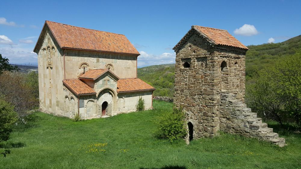 Храмовый комплекс 12 века князей Магаладзе в Грузии