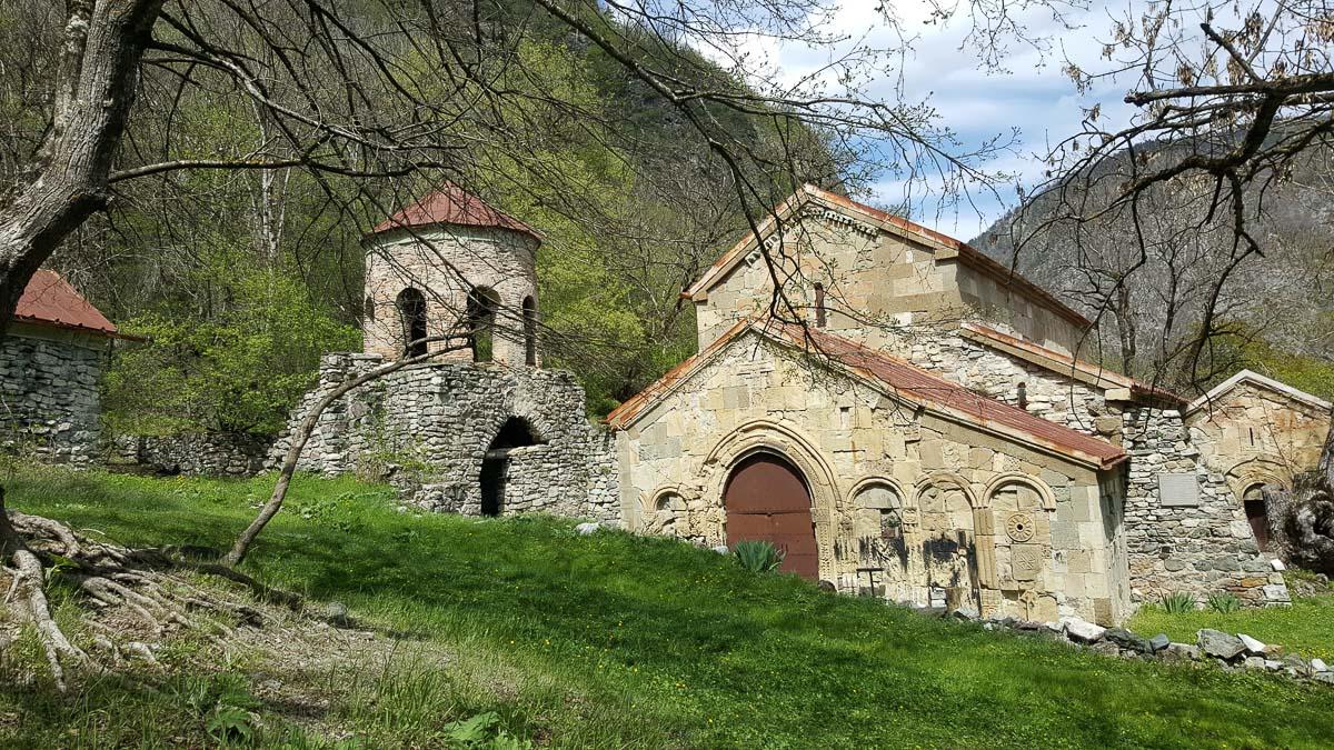 Рконский монастырь в Шида-Картли