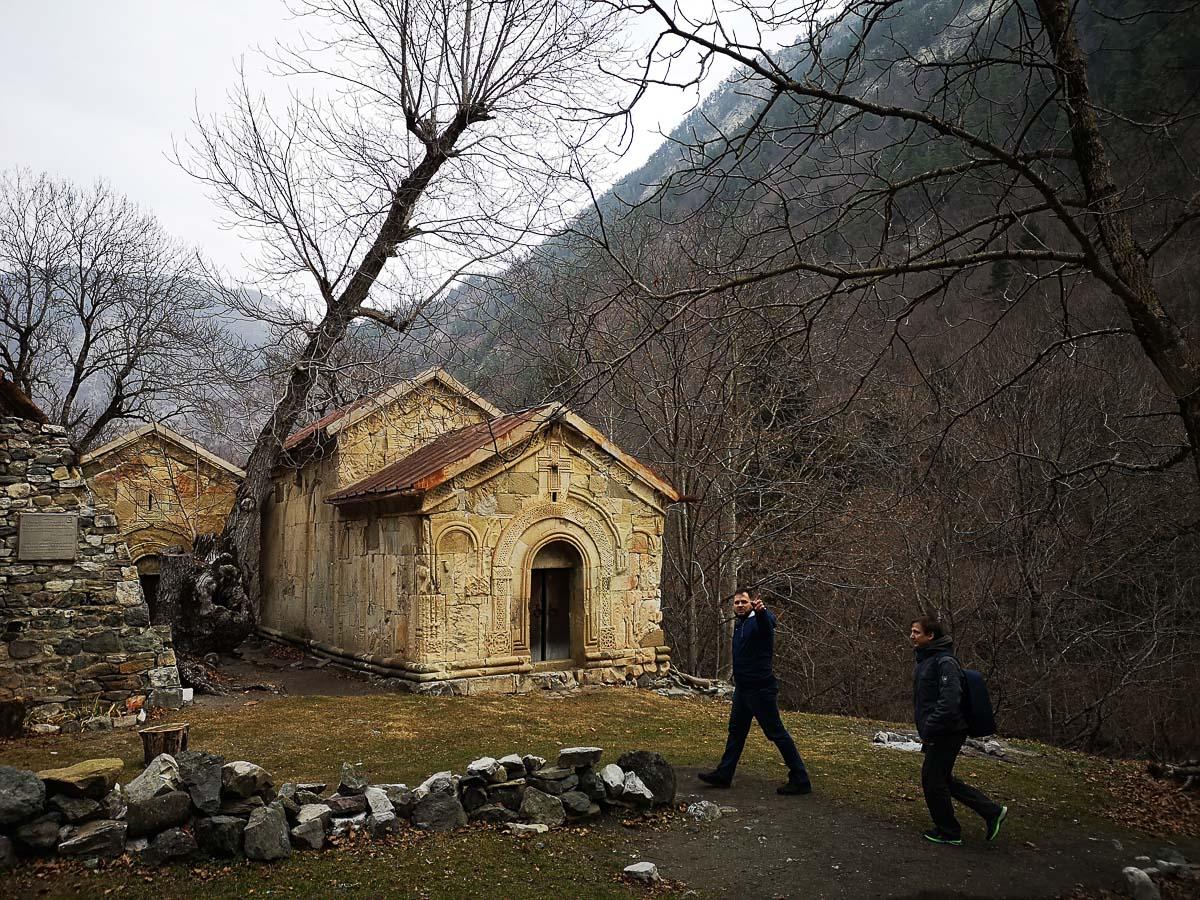Нетуристическая малоизвестная средневековая Церковь в Грузии
