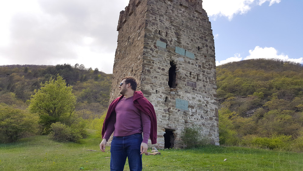 Смотровая башня князей Магаладзе в Грузии