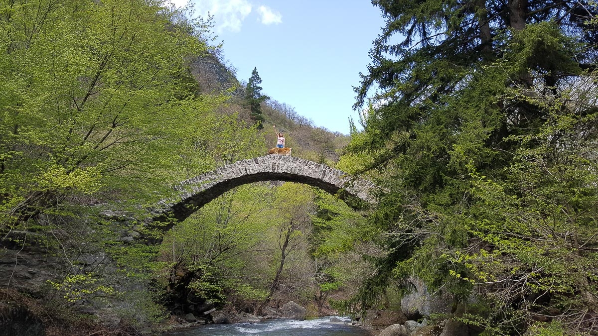 Мост Тамары в Грузии