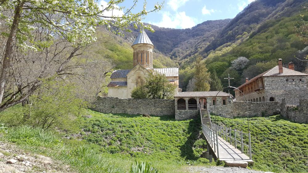 Мужской монастырь Кватахеви в Грузии