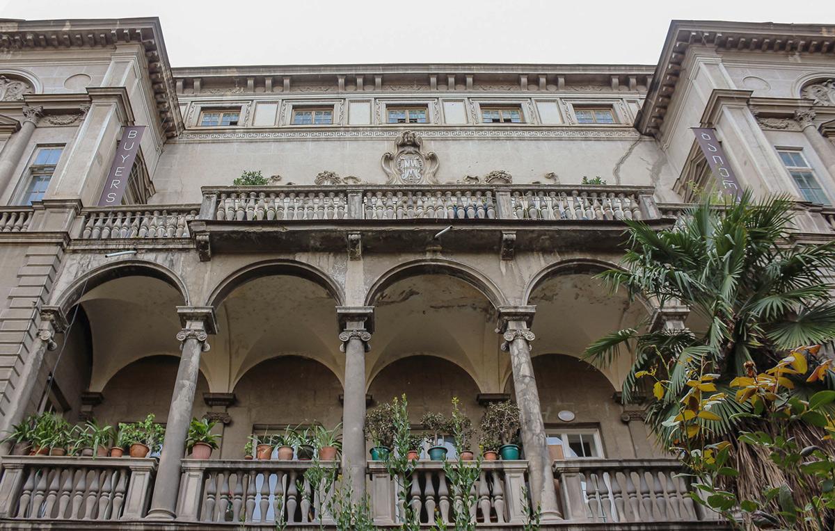 Здание Итальянской виллы в Тбилиси